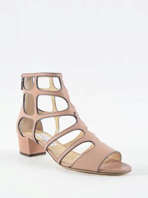 Jimmy Choo: sandals online - Ren 35 cage sandals