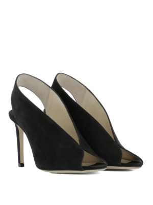 Jimmy Choo: sandals online - Shar 85 suede sandals