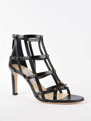 Jimmy Choo: sandals online - Tina leather sandals