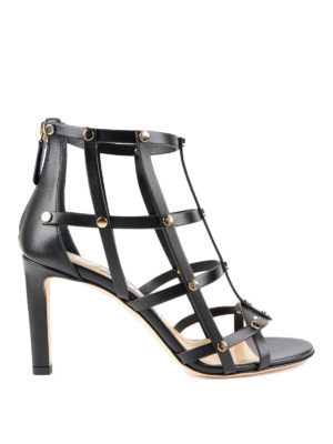Jimmy Choo: sandals - Tina leather sandals