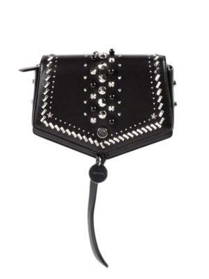 Jimmy Choo: shoulder bags - Arrow studded leather shoulder bag