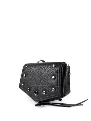 Jimmy Choo: shoulder bags online - Arrow studded leather shoulder bag