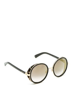 Jimmy Choo: sunglasses - Andie round frame sunglasses
