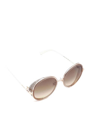 Jimmy Choo: sunglasses - Andie round sunglasses