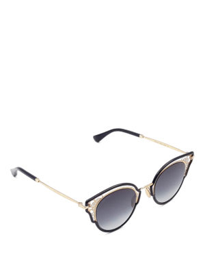 Jimmy Choo: sunglasses - Dhelia sunglasses
