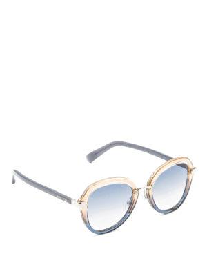 Jimmy Choo: sunglasses - Dree shaded sunglasses