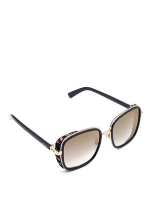 Jimmy Choo: sunglasses - Elva sunglasses