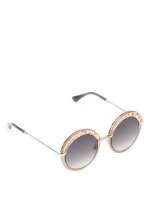 Jimmy Choo: sunglasses - Gotha glittered sunglasses