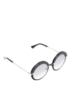Jimmy Choo: sunglasses - Gotha glittered sunglasses