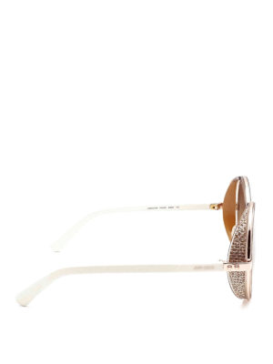 Jimmy Choo: sunglasses online - Andie round sunglasses