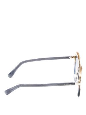 Jimmy Choo: sunglasses online - Dree shaded sunglasses