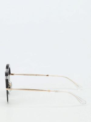 Jimmy Choo: sunglasses online - Gotha glittered sunglasses