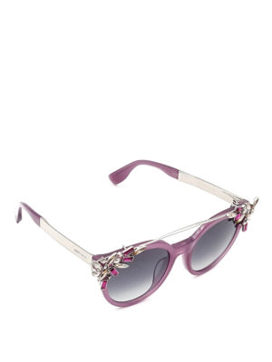 Jimmy Choo: sunglasses - Vivy sunglasses