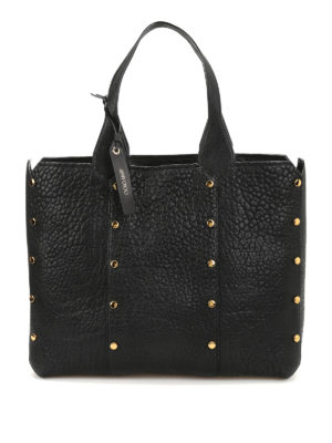 Jimmy Choo: totes bags - Lockett Shopper leather tote