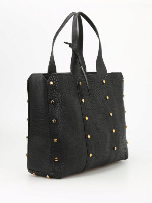 Jimmy Choo: totes bags online - Lockett Shopper leather tote