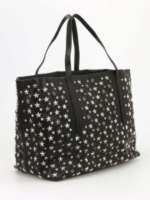 Jimmy Choo: totes bags online - Pimlico metal stars tote