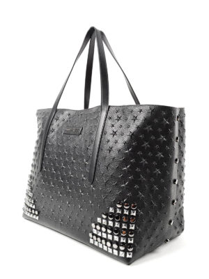 Jimmy Choo: totes bags online - Pimlico Rock embossed stars tote