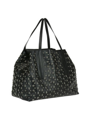 Jimmy Choo: totes bags online - Pimlico tote with metal stars