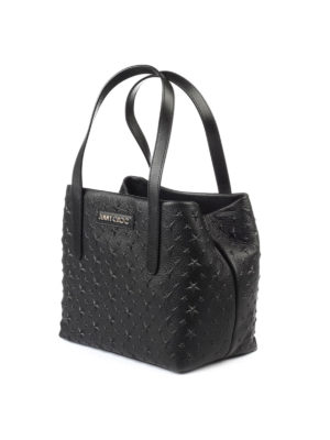 Jimmy Choo: totes bags online - Sofia S hammered leather tote
