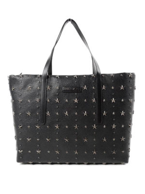 Jimmy Choo: totes bags - Pimlico stars detailed leather tote