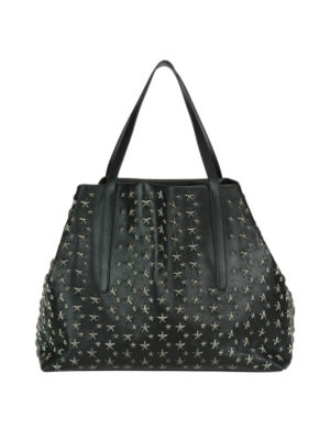 Jimmy Choo: totes bags - Pimlico tote with metal stars