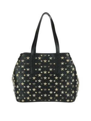 Jimmy Choo: totes bags - Sofia M tote with metal stars