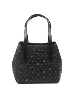 Jimmy Choo: totes bags - Sofia S hammered leather tote