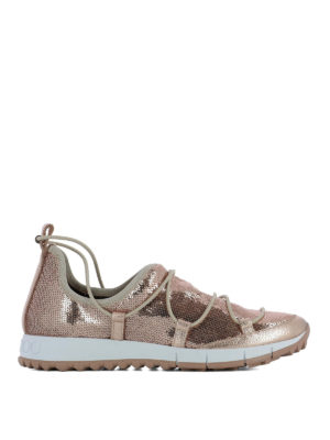 Jimmy Choo: trainers - Andrea sequin sneakers