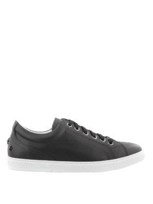 Jimmy Choo: trainers - Cash matte leather sneakers