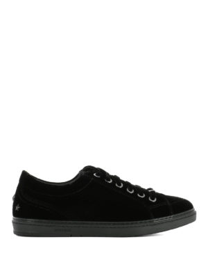 Jimmy Choo: trainers - Cash velvet sneakers