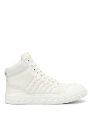 Jimmy Choo: trainers - Cassius high top trainers