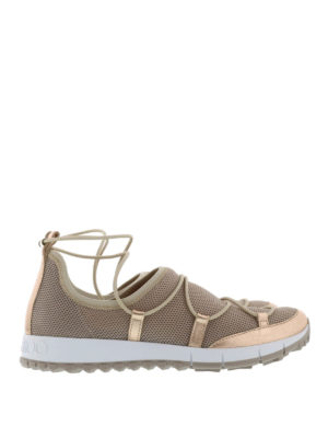 Jimmy Choo: trainers - Elastic criss-cross laces sneakers