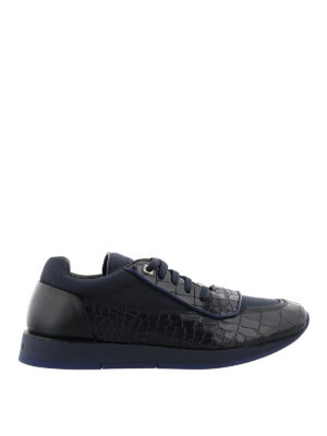 Jimmy Choo: trainers - Jett croco print leather sneakers