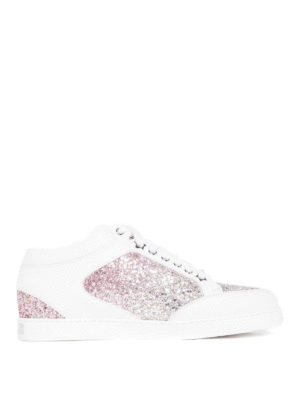 Jimmy Choo: trainers - Miami glitter detailed sneakers