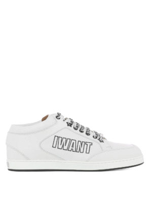 JIMMY CHOO: sneakers - Sneaker Miami in nappa