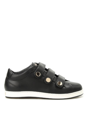 Jimmy Choo: trainers - NY leather Velcro sneakers