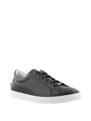 Jimmy Choo: trainers online - Cash matte leather sneakers