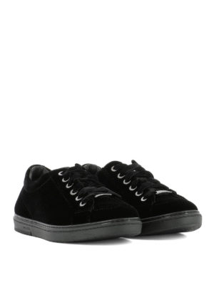 Jimmy Choo: trainers online - Cash velvet sneakers
