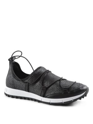Jimmy Choo: trainers online - Elastic criss-cross laces sneakers