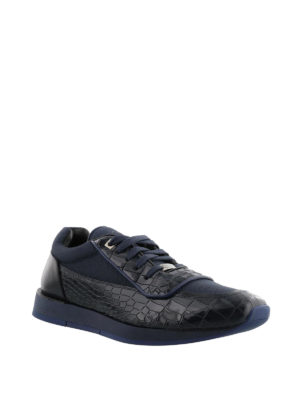 Jimmy Choo: trainers online - Jett croco print leather sneakers