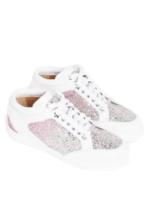 Jimmy Choo: trainers online - Miami glitter detailed sneakers