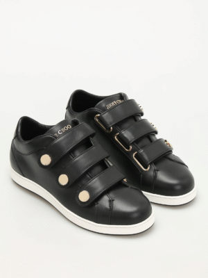 Jimmy Choo: trainers online - NY leather Velcro sneakers