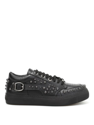 Jimmy Choo: trainers - Roman studded leather sneakers