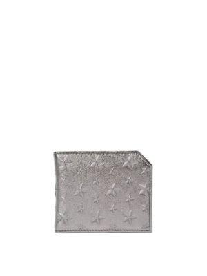 Jimmy Choo: wallets & purses - Albany embossed stars wallet