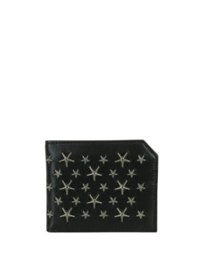 Jimmy Choo: wallets & purses - Albany wallet with metal stars