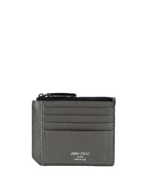 Jimmy Choo: wallets & purses - Belmont star embossed cardholder