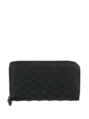 Jimmy Choo: wallets & purses - Carnaby embossed stars wallet