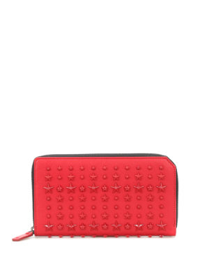 Jimmy Choo: wallets & purses - Carnaby stars leather wallet