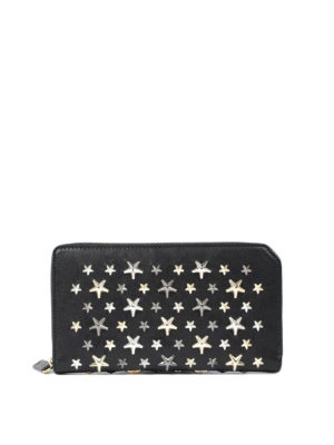 Jimmy Choo: wallets & purses - Carnaby zip-around leather wallet