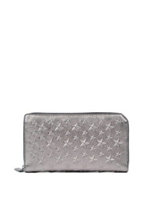 Jimmy Choo: wallets & purses - Carnaby zip-around wallet